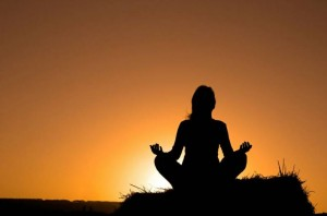 healing desert meditation